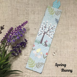 Handmade Bookmarks / Fabric Bookmarks / Summer Garden Bookmarks - Little Bun Designs UK