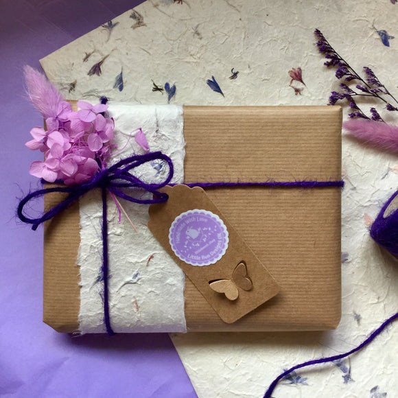 Eco Friendly Gift Wrap - Little Bun Designs UK