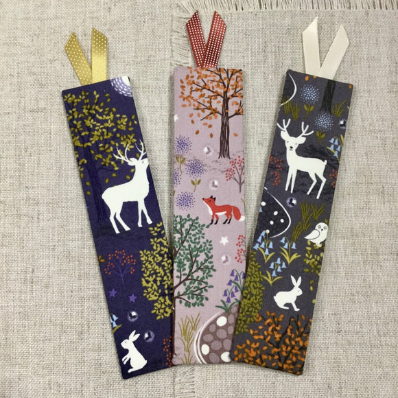 Winter Woodland Bookmarks