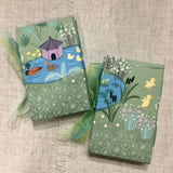Duck Pond Needle Case / Handmade Needle Book - Little Bun Designs UK