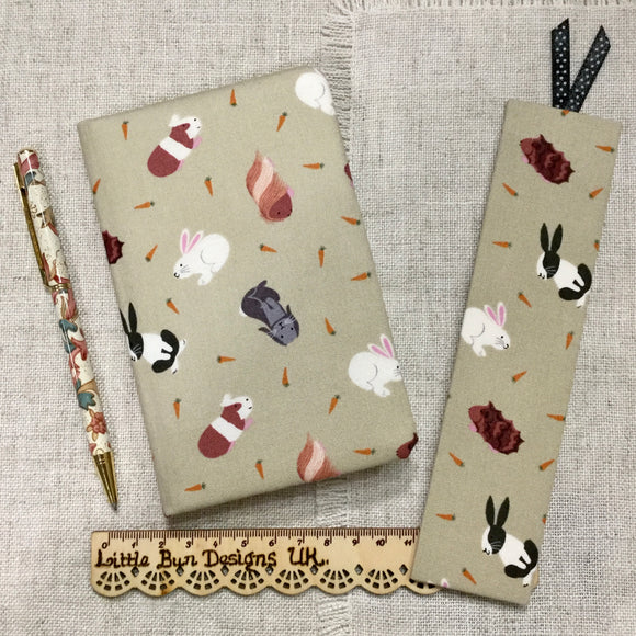 Pet Notebook / Address Book / Bookmark - Little Bun Designs UK