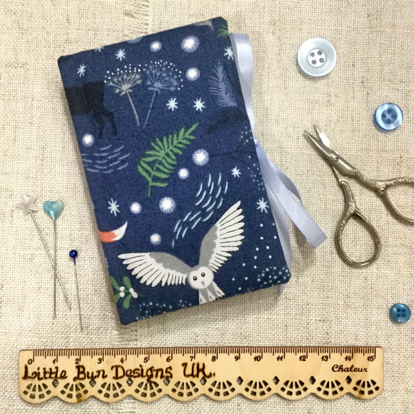 Winter Animals Needle Book / Sewing Accessories - Little Bun Designs UK