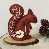 Squirrel Pin Cushion / Hand Sewn Pincushion - Little Bun Designs UK