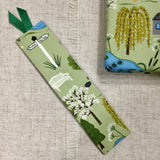 Bookmarks / Handmade Fabric Bookmarks / Country Animal - Little Bun Designs UK