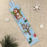 Winter Bookmarks / Handmade / Fabric Covered - Little Bun Designs UK