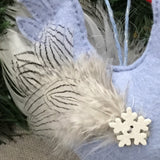 Winter Felt Chicken / Christmas Decoration - Little Bun Designs UK