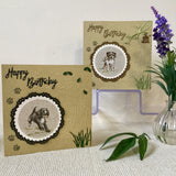 Handmade Spaniel Birthday Card - Little Bun Designs UK