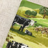 A6 Cow Notebook / Address Book / Bookmark - Little Bun Designs UK
