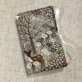 Handmade Needle Book / Woodland Design - Little Bun Designs UK