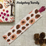 Woodland Bookmarks / Handmade Fabric Bookmark - Little Bun Designs UK