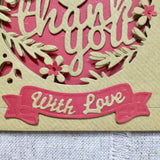 Thank You Card / Personalised - Little Bun Designs UK