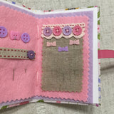 Handmade Needle Book / Floral Needle Case - Little Bun Designs UK