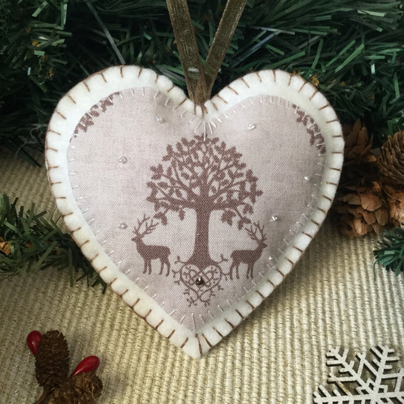 Scented Woodland Deer Decoration - Little Bun Designs UK