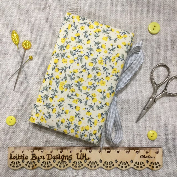 Handmade Needle Book / Needle Case - Little Bun Designs UK