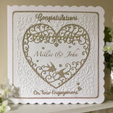 Personalised Engagement Card - Little Bun Designs UK