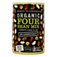 4 Bean Mix : Organic : 400g Can