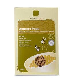 Andean Chocolate Pops : Gluten Free : 250g