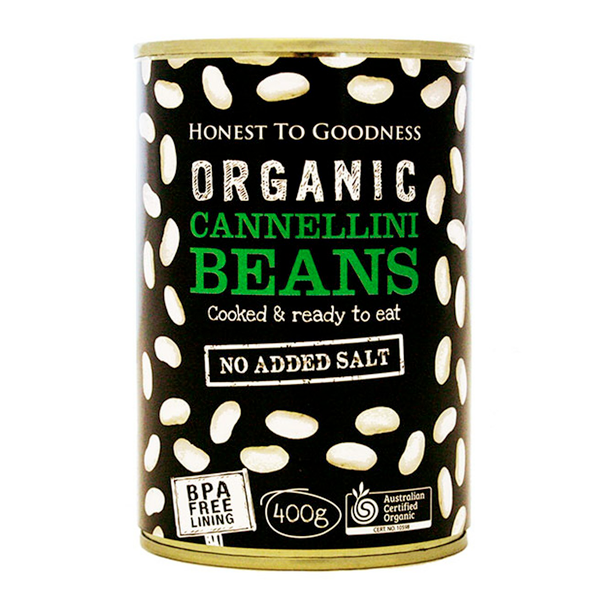 Cannelini Beans : Organic : 400g Can