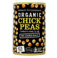 Chickpeas : 400g Can : Organic