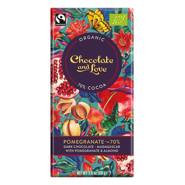 Chocolate : Fairtrade Organic : 80g
