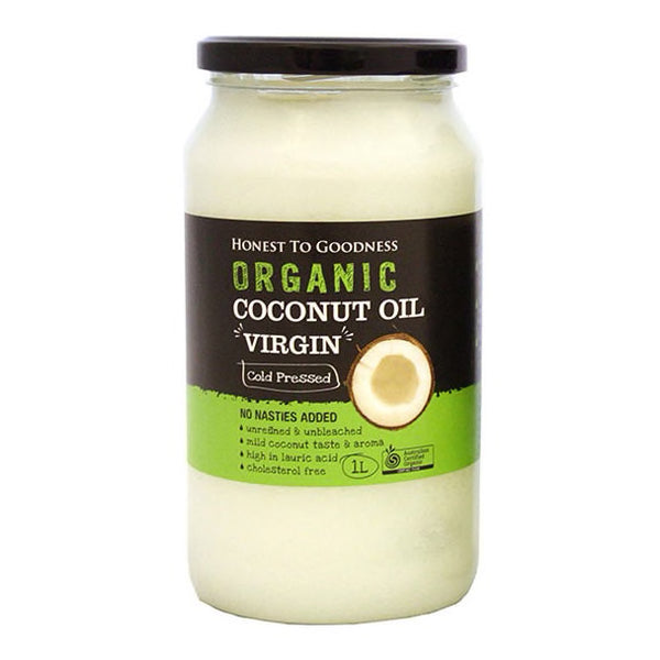 Coconut Oil Virgin : 1 Litre Bottle