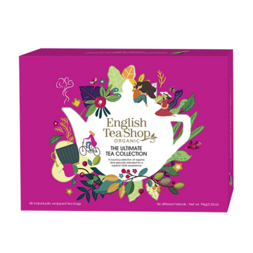 English Tea Shop : Organic Ultimate Tea Collection Pink Box : 48 bags