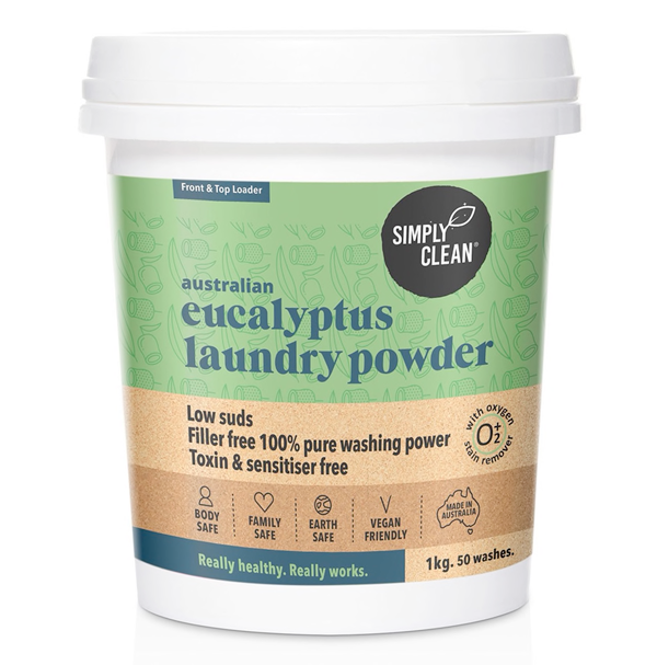 Eucalyptus Laundry Powder : 1KG
