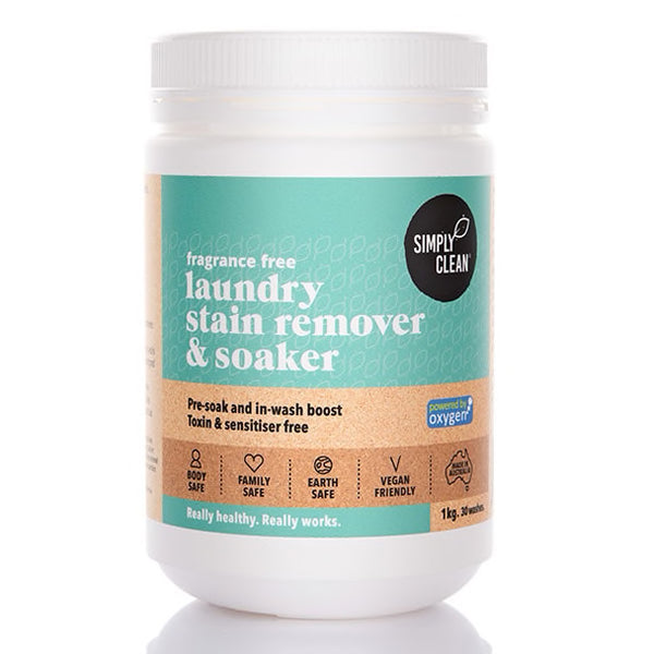 Laundry Stain Remover and Soaker : 1KG : Fragrance Free