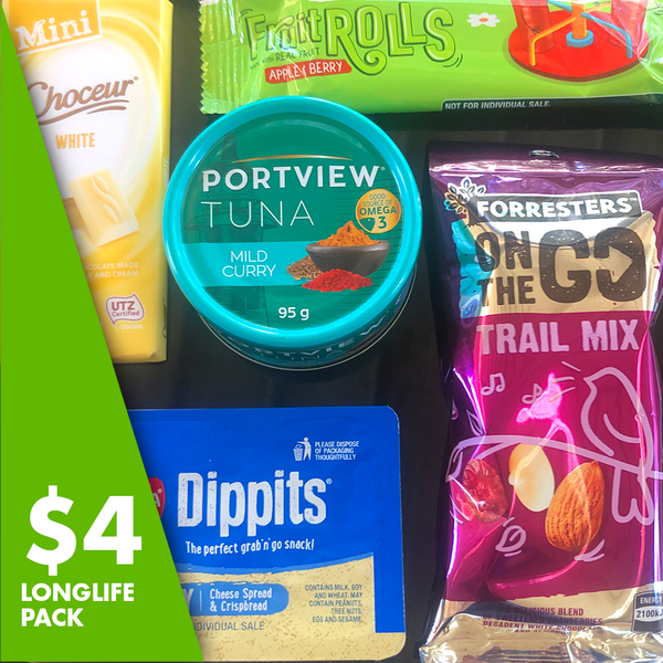 $4 Long Life Pack : Help feed people in need