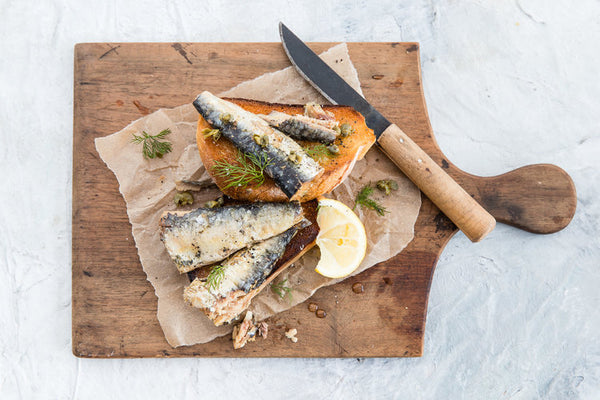 Sardine in EVOO in can : Good Fish : 120g