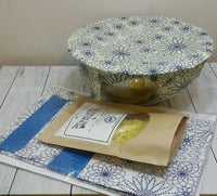 Certified Organic Cotton Beeswax Wrap Kit