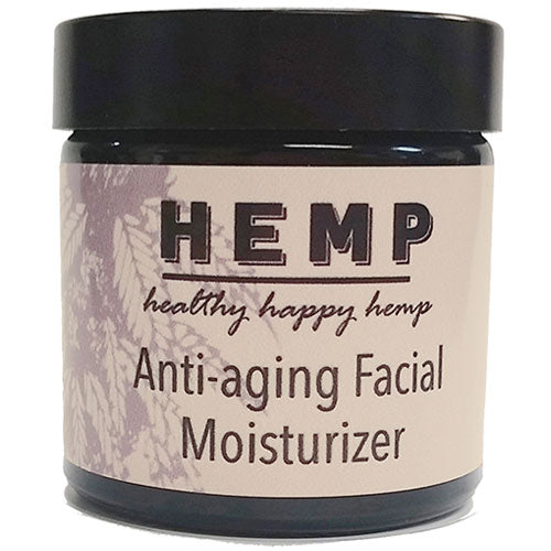 Healthy Happy Hemp Seed Anti-Aging Facial Moisturizer
