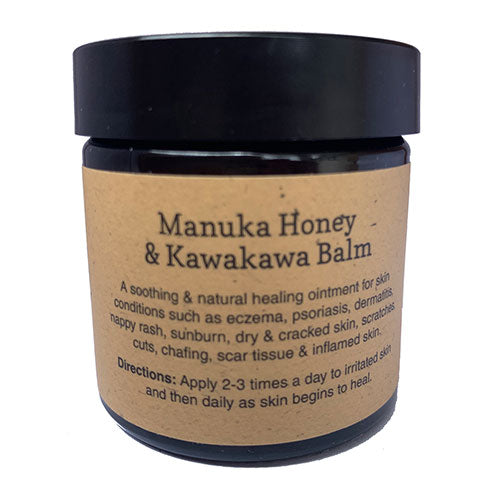 Beekeepers Daughter Manuka Honey and Kawakawa Cream