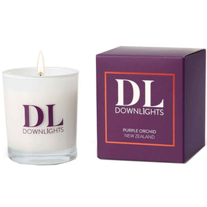 Downlights candles New Zealand Purple Orchid