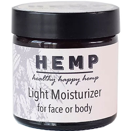 Hemp seed light face and body moisturizer