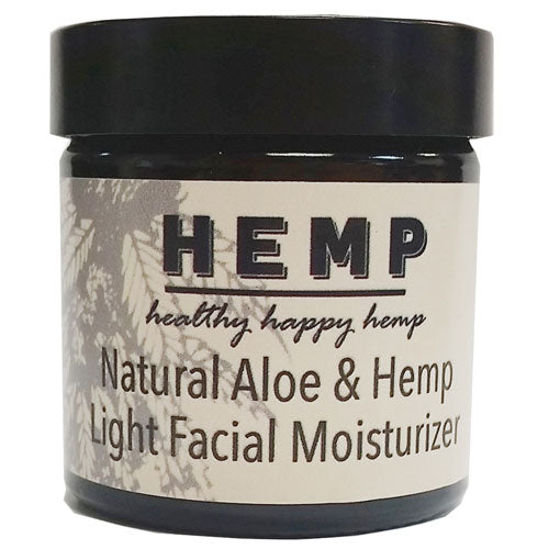 Aloe and Hemp Seed Light Facial Moisturizer