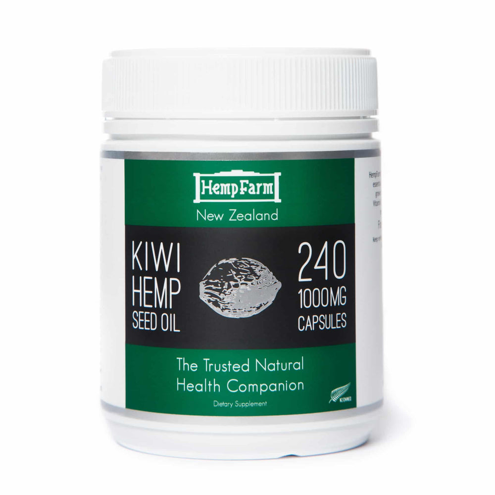 Load image into Gallery viewer, Hemp Farm Hemp See Oil Capsules