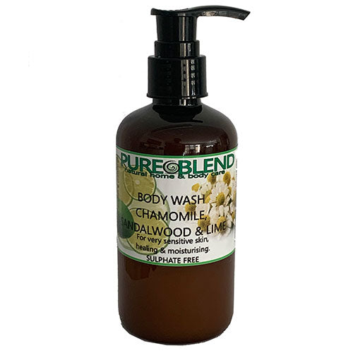 Pure blend Chamomile and Sandalwood body wash