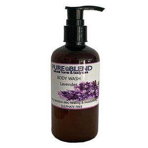 Pure Blend Lavender body wash Made in New Zealand