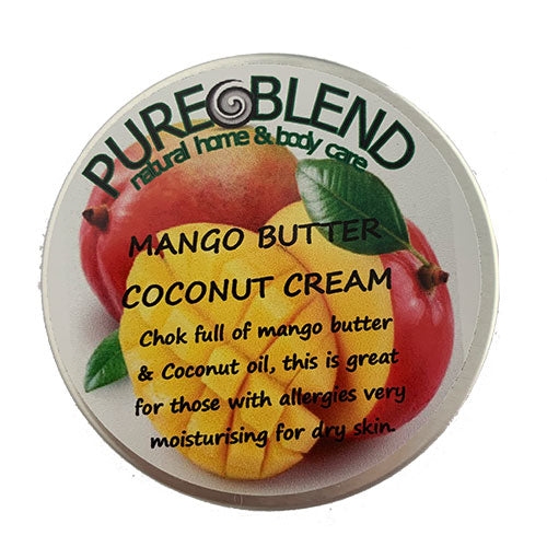 Pure Blend Mango Butter Coconut Cream Made in New Zealand