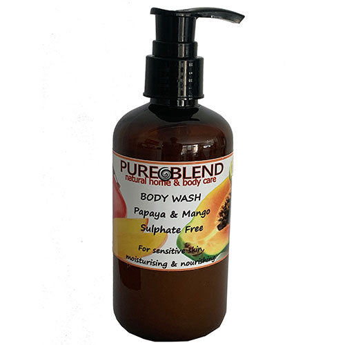 Pure Blend Papaya and Mango body Wash Made in NZ