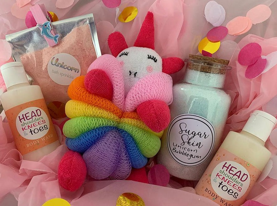 Unicorn Organic Bath Set for Kids