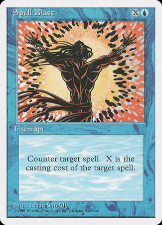 Spell Blast [Fourth Edition] | La Crypte
