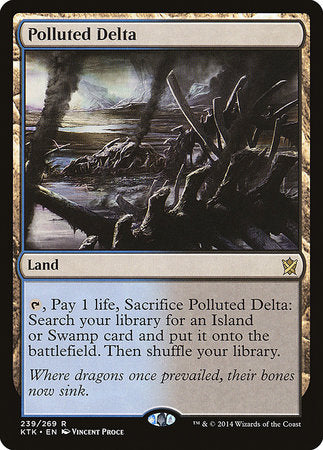 Polluted Delta [Khans of Tarkir] | La Crypte