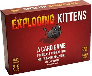 EXPLODING KITTENS  -  BASE GAME (Anglais)