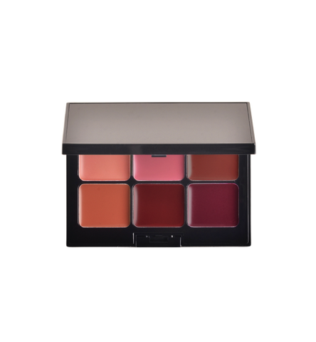 LIP PALETTE - 6 SHADES