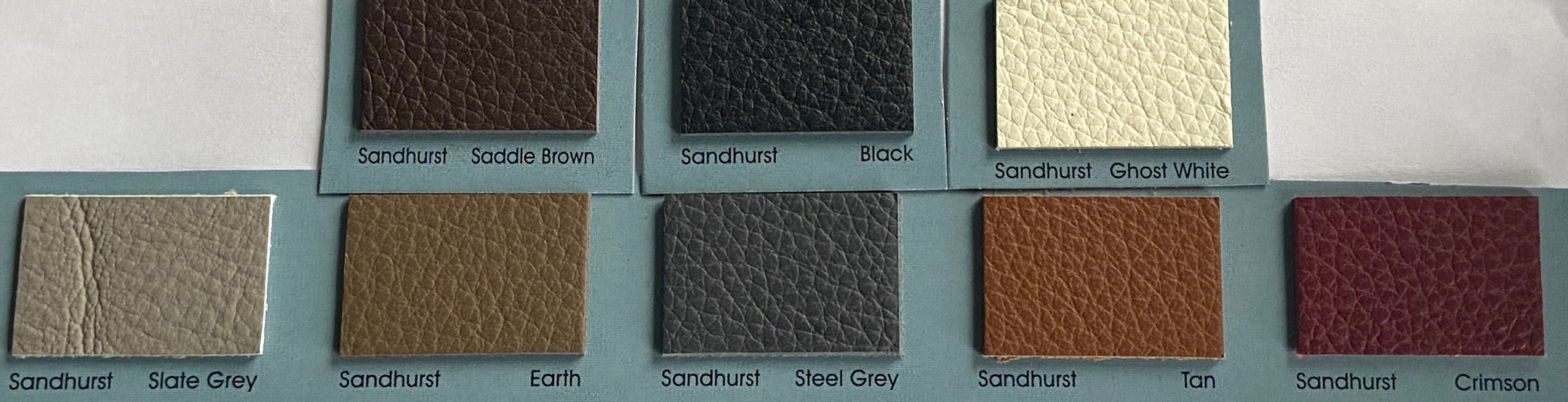Sandhurst Black Italian Leather Cow Hide : (1.3-1.5mm) This Hide Is Perfect For Leather Upholstery , Leather Crafts , Leather Bags Leather Accessories.
