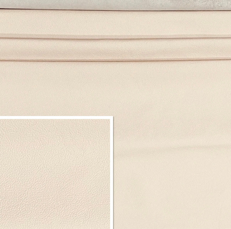 Newmarket Rose White Italian Leather Cow Hide : (0.9-1.1mm) This Hide Is Perfect for Leather Upholstery , Leather Crafts, Leather Bags , Leather Accessories.