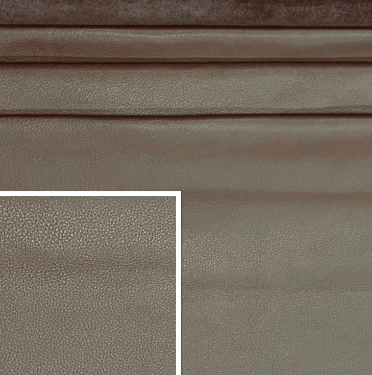 Sandhurst Earth Brown Italian Leather Cow Hide : (1.3-1.5mm) This Hide Is Perfect for Leather Upholstery , Leather Crafts, Leather Bags , Leather Accessories.