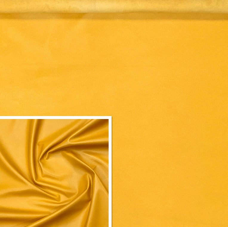 Valencia Yellow Leather Lambskin : Italian Lamb Nappa (0.6-0.7 mm). Perfect for Clothing, Leather Jackets, Leather Crafts, Leather Handbags, Leather Shoes.